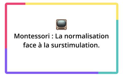 Montessori : qu'est-ce que la normalisation ?
